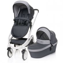 Коляска 2в1 4Baby Cosmo Duo Dark Grey