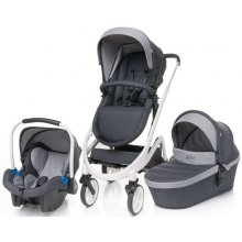 Коляска 3в1 4Baby Cosmo Trio Dark Grey