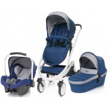 Коляска 3в1 4Baby Cosmo Trio Navy Blue