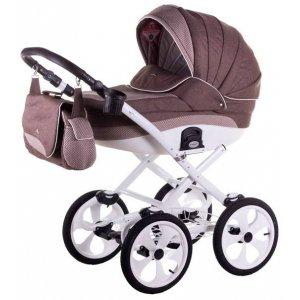 Классическая коляска 2в1 Adamex Sofia Pik2 Коричневый