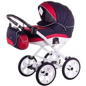 Классическая коляска 2в1 Adamex Sofia Pik9 Синий-Красный