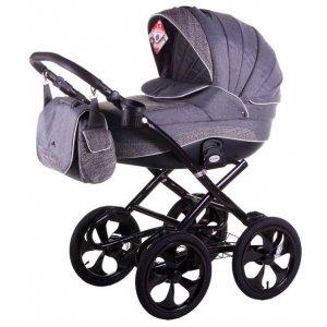 Классическая коляска 2в1 Adamex Sofia 603K Серый