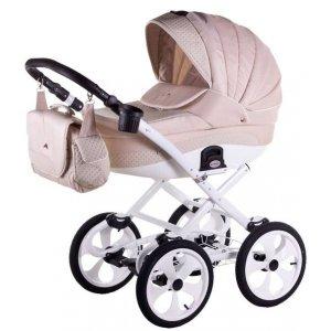 Классическая коляска 2в1 Adamex Sofia 741S Бежевый