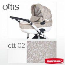 Коляска 3в1 Adbor Ottis OTT-02 (с автокреслом)