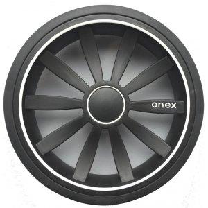 Колесо Anex Sport заднее Черное (ненадувное)