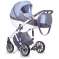 Коляска 2в1 Anex Sport PA07 Серый-Светло-голубой
