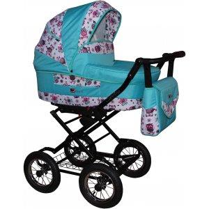 Классическая коляска Anmar Carmina Бирюзовый