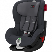 Автокресло Britax-Romer King II LS Black Series Storm Grey