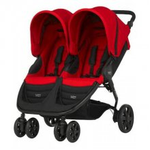 Коляска Britax B-Agile Double Flame Red