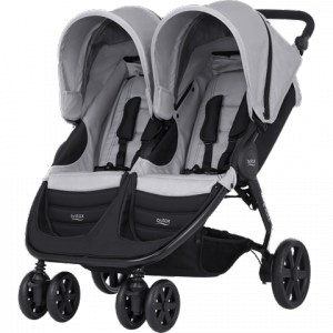 Коляска Britax B-Agile Double Steel Grey