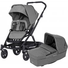 Коляска с люлькой BRITAX Go Next Graphite Melange/Black 2018