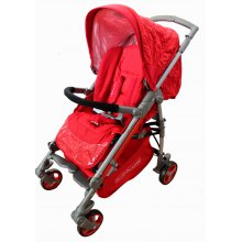 Прогулочная коляска Babylux Ruby (красный)