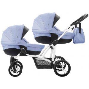 Коляска 2в1 Bebetto B 42 Premium New 02, Синий