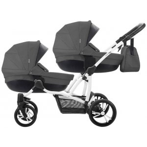 Коляска 2в1 Bebetto B 42 Premium New 04, Темно-серый