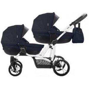 Коляска 2в1 Bebetto B 42 Premium New 07, Темно-синий