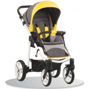 Прогулочная коляска Bebetto Nico (SL389) Серый-Желтый