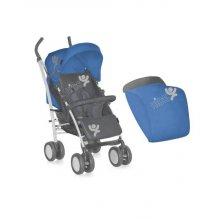 Коляска Bertoni S-100 ЧЕХОЛ (blue&grey kids)