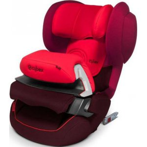 Автокресло Cybex Juno 2-Fix Poppy Red