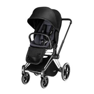 Прогулочный блок Priam Lux Seat Black Beauty Denim