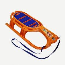 Санки Snow Tiger (оранжевый)