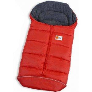 Конверт с флисовой подкладкой (Красный)