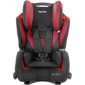 Автокресло Recaro Young Sport Cherry