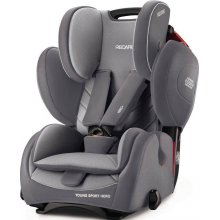 Автокресло Recaro Young Sport Hero Aluminium Grey