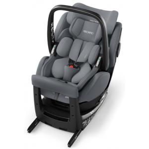Автокресло Recaro Zero.1 Elite i-Size R129 Aluminium Grey