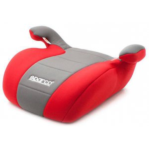Автокресло Бустер Sparco F100K Red/Grey