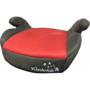 Автокресло Бустер Wonderkids Honey Pad (Красный/Коричневый)