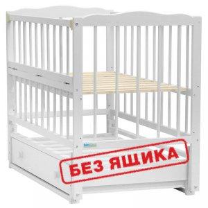 Кроватка Baby Sleep Aurora (AKP-S-O) Weiss (Белая)