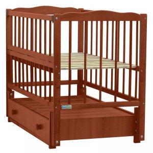 Кроватка Baby Sleep Aurora (AKP-S-B) Mahagoni (Махагон)
