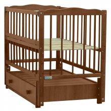Кроватка Baby Sleep Aurora (AKP-S-B) Nussbaum (Орех)
