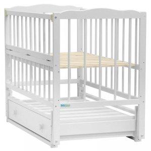 Кроватка Baby Sleep Aurora (AKP-S-B) Weiss (Белая)