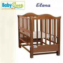 Кроватка Baby Sleep Elena (BKP-S-B) Elfenbein (Сл.кость)