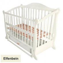 Кроватка Baby Sleep Grazia Lux (BKP-S-B) Elfenbein (Сл.кость)