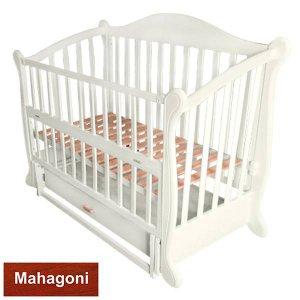 Кроватка Baby Sleep Grazia Lux (BKP-S-B) Mahagoni (Махагон)