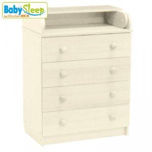 Комод Baby Sleep Stella (DKK-C) Elfenbein