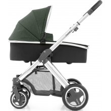Коляска 2 в 1 BabyStyle Oyster 2 Olive Green / Mirror Black