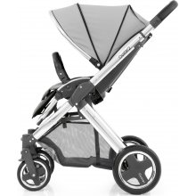 Прогулочная коляска BabyStyle Oyster 2 Pure Silver / Mirror Black