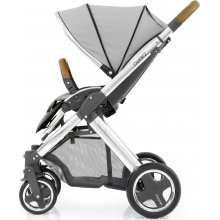 Прогулочная коляска BabyStyle Oyster 2 Pure Silver / Mirror Tan