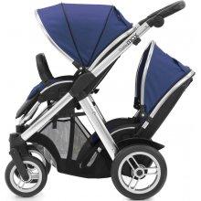 Прогулочная коляска для двойни BabyStyle Oyster Max Tandem Navy / Mirror