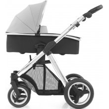 Коляска 2 в 1 BabyStyle Oyster Max Pure Silver / Mirror