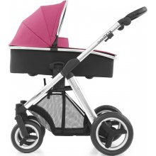 Коляска 2 в 1 BabyStyle Oyster Max Wow Pink / Mirror
