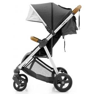 Прогулочная коляска BabyStyle Oyster Zero Tungsten Grey