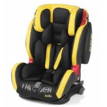Автокресло Be Cool Thunder Iso-fix желтое