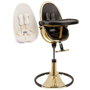 Стульчик для кормления Bloom Fresco Chrome Special Edition yellow gold/coconut white