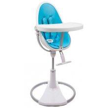 Стульчик для кормления Bloom Fresco Chrome white/bermuda blue