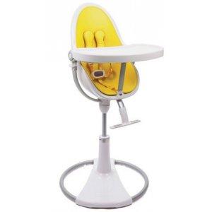 Стульчик для кормления Bloom Fresco Chrome white/canary yellow