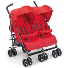 Прогулочная коляска для двойни Cam Twin Flip Красный 850/24
